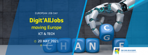 Zaposlitveni sejem Digit'allJobs moving Europe